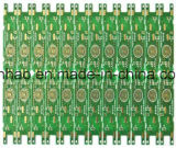 2 PWB verde de la Doble-Cara OSP de la capa Fr4