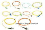 Cable de puente óptico de fibra del solo modo de LC/Sc/FC