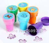 Изготовленный на заказ штемпель для детей, милый Собственн-Покрывая краской штемпель для малышей, ягнится игрушка