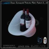 Benna di ghiaccio illuminata LED della birra con il modanatura di Rotional