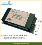 450W 72VDC aan Convertor 13.5VDC 33A Parallelle gelijkstroom-gelijkstroom
