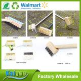 Ferramentas de jardim Escova de erva daninha longa ou de aço inoxidável