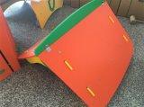2016 Nieuwe PE en houten-Plastic Samengestelde van Kinderen Reeks van de Apparatuur van de Speelplaats (pe-23802)