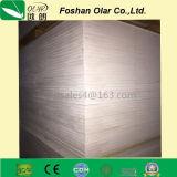 Tarjeta incombustible superior del cemento de la fibra para el conducto