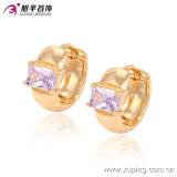 90267 neues Fashion Elegant 18k Gold-Plated Crystal Jewelry Earring Hoops für Ladys Best Gifts