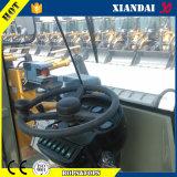 ジョイスティック制御2t車輪のローダーが付いている構築機械