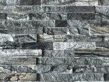 Pietra impilata pietra di marmo beige naturale della coltura in Cina