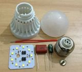 セリウムRoHS ApprovedとのE27/B22 LED Plastic Bulb Housing
