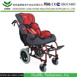 Paediatric 휠체어 - 공간에 있는 경사에 조정가능한 아이 휠체어 - 완전히