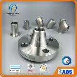 La bride de collet de soudure d'acier inoxydable a modifié la bride (KT0367)