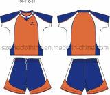 Uniforme barato del fútbol de la sublimación del equipo (ELTYSJ-61)