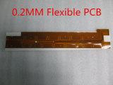 0,2 mm de espessura dupla face placa de circuito impresso flexível