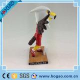 La mascotte della resina dell'OEM Bobble la testa per la promozione (HG048)