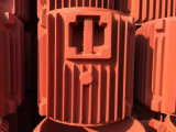 Часть случая мотора замыкающей плиты