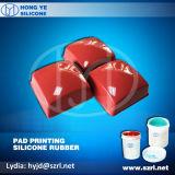 Borracha do silicone da impressão da almofada de RTV