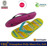 GoldColor PVC modisches Flip Flop für Lady