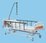 Lujoso Ultra Low Tres Función eléctrica de hospital Cama