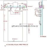 Raccord de porte en verre en acier inoxydable (HR1300C-11)
