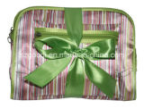 SpitzenRate Zoll-bildete Travel Toiletry Cosmetic Bag Sets mit Bow