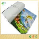 Impresión cómica del libro de la cubierta dura de los niños de encargo (CKT - SB-006)