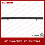 "40 "" 120W Single Row Curved LED weg von Road Light Bar für 4X4 (TLB1120X)"