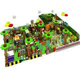 子供の屋内スライドの屋外の運動場のための木の森林スライド