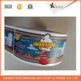 Impreso Botella de impresión de etiquetas de papel Servicio de PVC auto-adhesivo de la etiqueta engomada