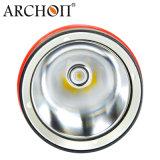 Archon 1200 Koude Witte leiden 6500k van Lumen het Flitslicht van de Duik met de Magnetische Roterende Schakelaar van de Ring