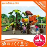 Reeks van de Speelplaats van de Kinderen van de Dia van jonge geitjes de Plastic Openlucht