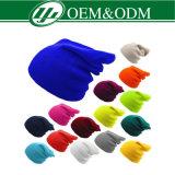 Preiswerter kundenspezifischer Großhandelswinter-warmer gestrickter Hut