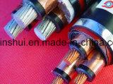 L'usine vend différents genres de câble d'alimentation de XLPE