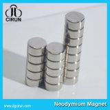 Ímãs neo de NdFeB do disco redondo do revestimento de zinco N35