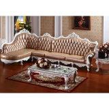 خشبيّة جلد أريكة من أثاث لازم [شنس] [فكتري] ([يف-د806])