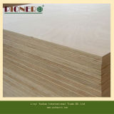 18mm Commercial Plywood Poplar Core Red Face Back