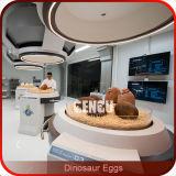 シミュレーションの恐竜の赤ん坊のガラス繊維の恐竜の卵