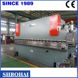 Freio de aço quente da imprensa do metal de folha da venda de Wd67y 100t/4000