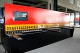 Feixe hidráulico econômico do balanço de QC12y-8*3200mm que corta a máquina de estaca hidráulica da placa de Machine/Nc
