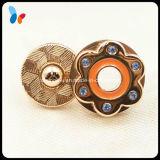 Botón colorido decorativo del imán de la manera de la dimensión de una variable de encargo de la flor