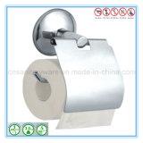 Distributeur de papier de salle de bains de mémoire de support de papier de toilette d'acier inoxydable