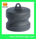 Bestes verkaufendes Nylon-Belüftung-Rohr-Staubkappe-Nockensperre-Kupplung Typ-DP