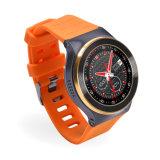 Relógio esperto Android redondo S99 do ósmio 5.1 GPS da tela 3G