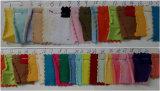 뜨개질을 한 직물 네온 색깔 아이들 아이 아기 모자