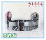 Badezimmer-Eckspeicher-Zahnstangen-Organisator-Dusche-Wand-Regal mit Absaugung-Cup