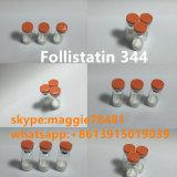 Polvo humano Bodybuilding Follistatin del polipéptido del crecimiento del 99% 344 1mg/frasco