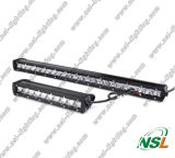2016 LED Mini barra 18W CREE LED barra de luz de carretera