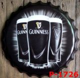 Venta caliente de la cerveza Señales Arte decorativo del regalo de la pared del metal de la placa