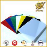 Utilisation épaisse de feuille de PVC de couleur pour le panneau décoratif