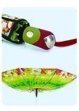 熱転送しなさいプリント3フォールドのDuomaticの傘(YS-3FD22083510R)を