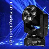 1PCS 30W 4in1 DMX RGBW LED DJ lavano l'indicatore luminoso capo mobile del punto