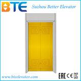 Colore del Ce ed ascensore per persone dorati della scuderia senza stanza della macchina